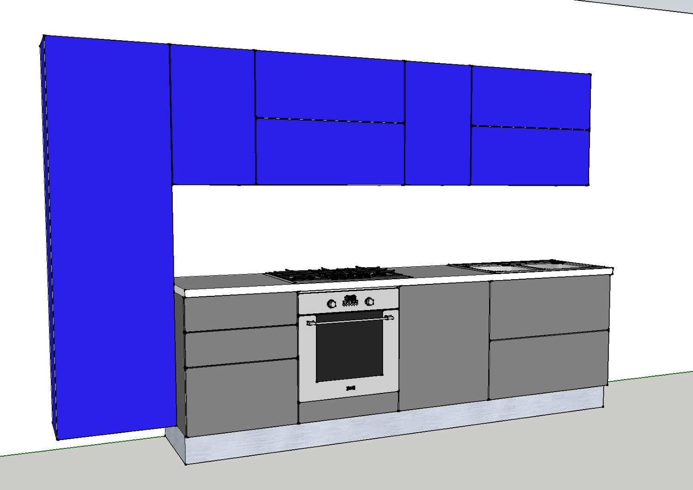 cucina laccato opaco1 - Cucine a prezzi scontati