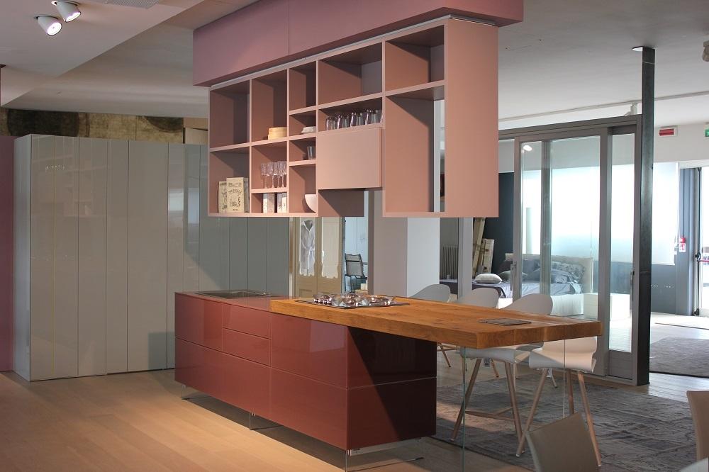 Cucina Lago Cucina modello lago Design Vetro Tortora - Cucine a prezzi ...