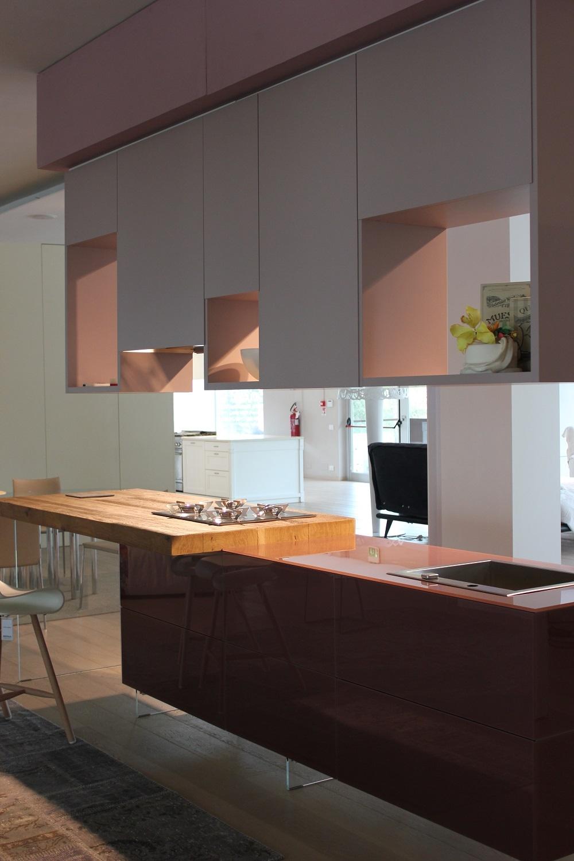 Cucina Lago Cucina modello lago Design Vetro Tortora - Cucine a ...