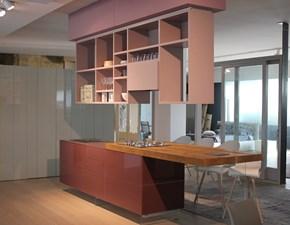 Cucina Lago Cucina modello lago Design Vetro Tortora