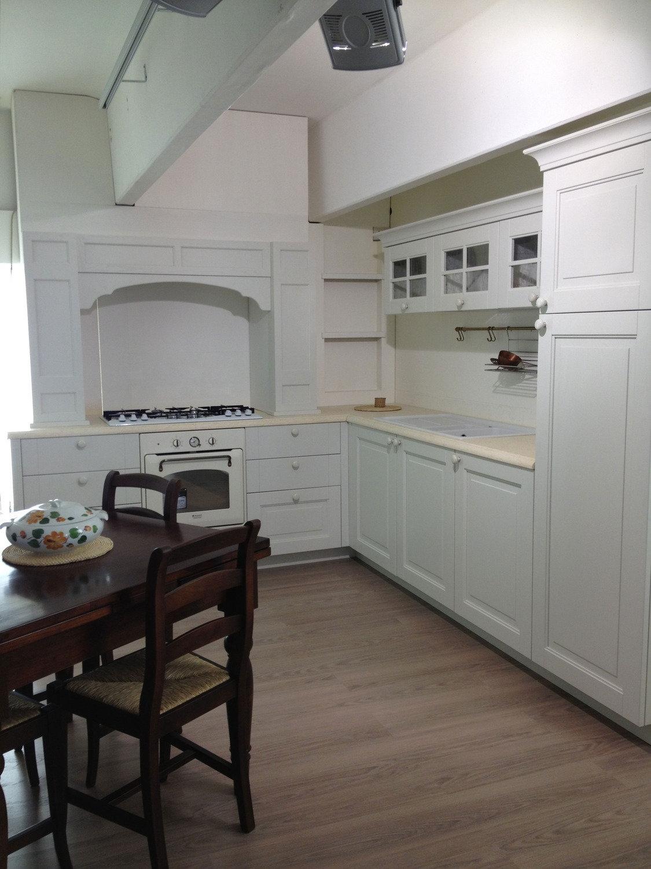 Offerta unica cucina del tongo lari classica legno bianca - Cucina classica bianca ...