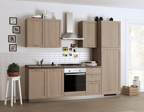 Cucina larice country lineare Highland Scavolini