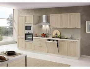 Cucina larice moderna lineare Asa arredamenti Artigianale