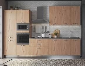 Cucina larice moderna lineare Daila Artigianale