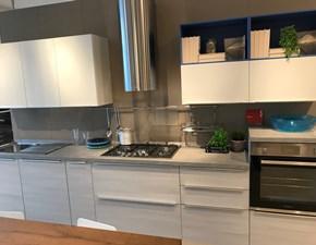 Cucina larice moderna lineare Urban  Scavolini