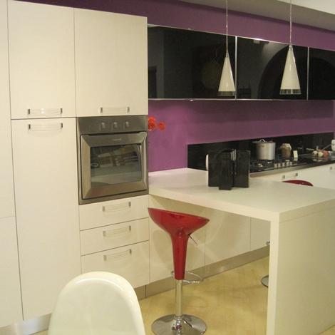 Cucina larius laccata bianca cucine a prezzi scontati - Cucina laccata bianca ...