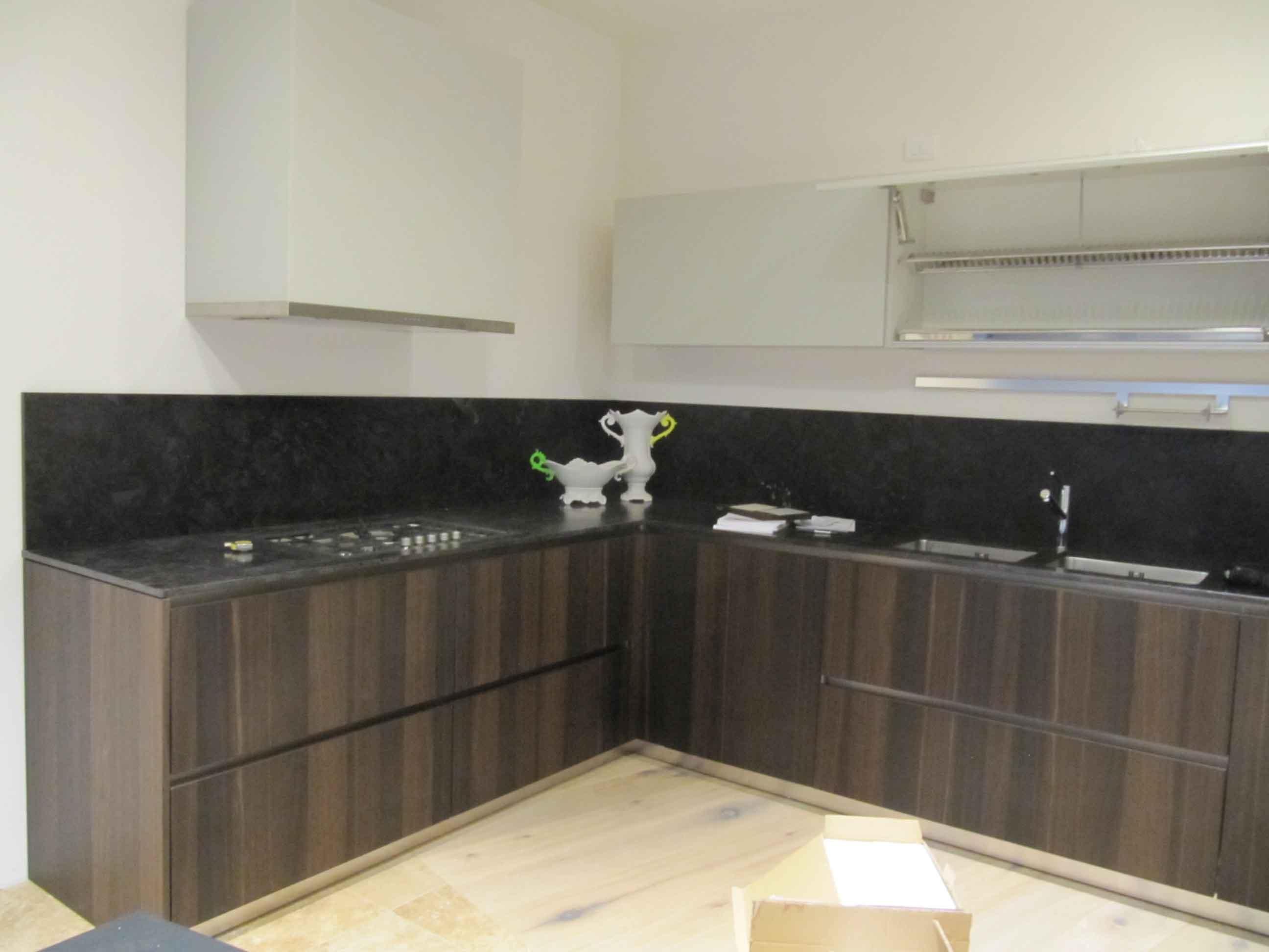 Cucina design legno rovere cucine a prezzi scontati for Design cucina