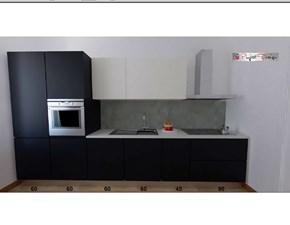 Cucina Line moderna tortora lineare Astra cucine