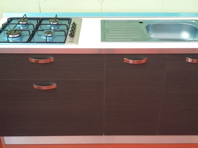 Cucine Moderne Lombardia : Cucina lineare cm ideale per piccoli spazi offerta