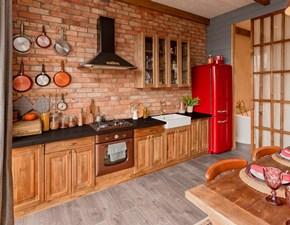 Cucina lineare americano Mobilike carol Artigianale a prezzo scontato
