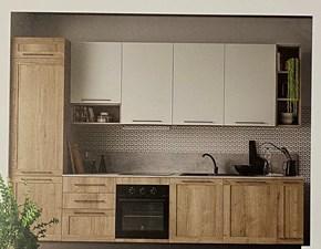Cucina lineare Ar 03 Artigianale con uno sconto vantaggioso