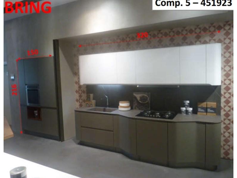 Cucina lineare Bring Stosa cucine con uno sconto del 76%