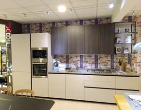 Cucina lineare Charisma groove taglio 30° Berloni cucine con un ribasso vantaggioso