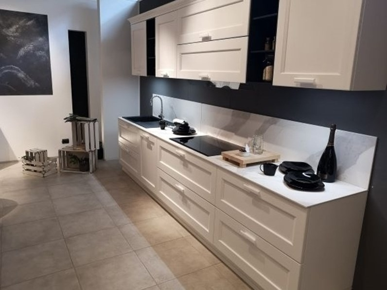 Cucina lineare classica asolo dibiesse a prezzo ribassato - Dibiesse cucine prezzi ...