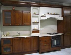 Cucina lineare classica Uvafragola Bamax a prezzo scontato