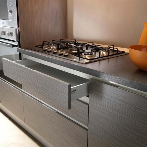 Cucina lineare completa di elettrodomestici rex cucine a - Elettrodomestici cucina ...