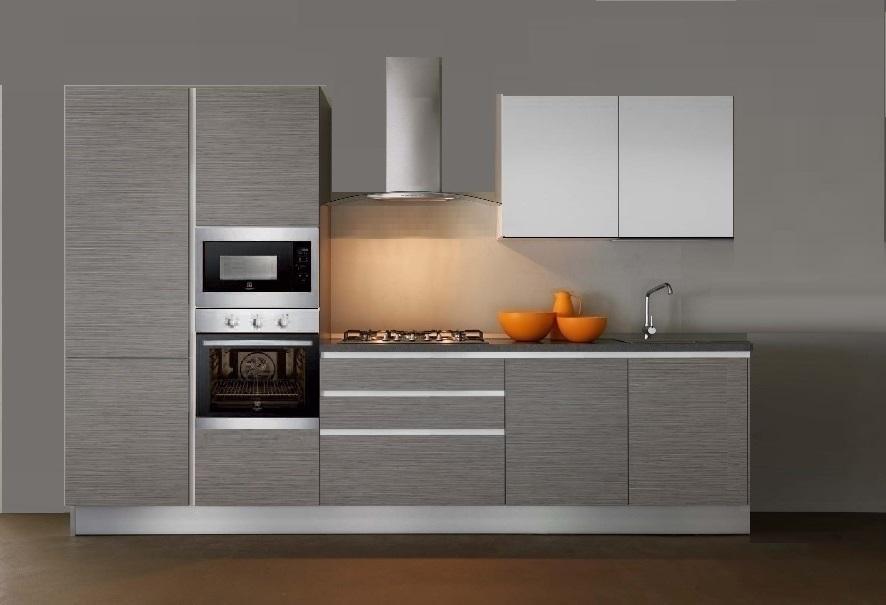 Cucina lineare completa di elettrodomestici rex cucine a - Cucina 4 metri lineari prezzi ...