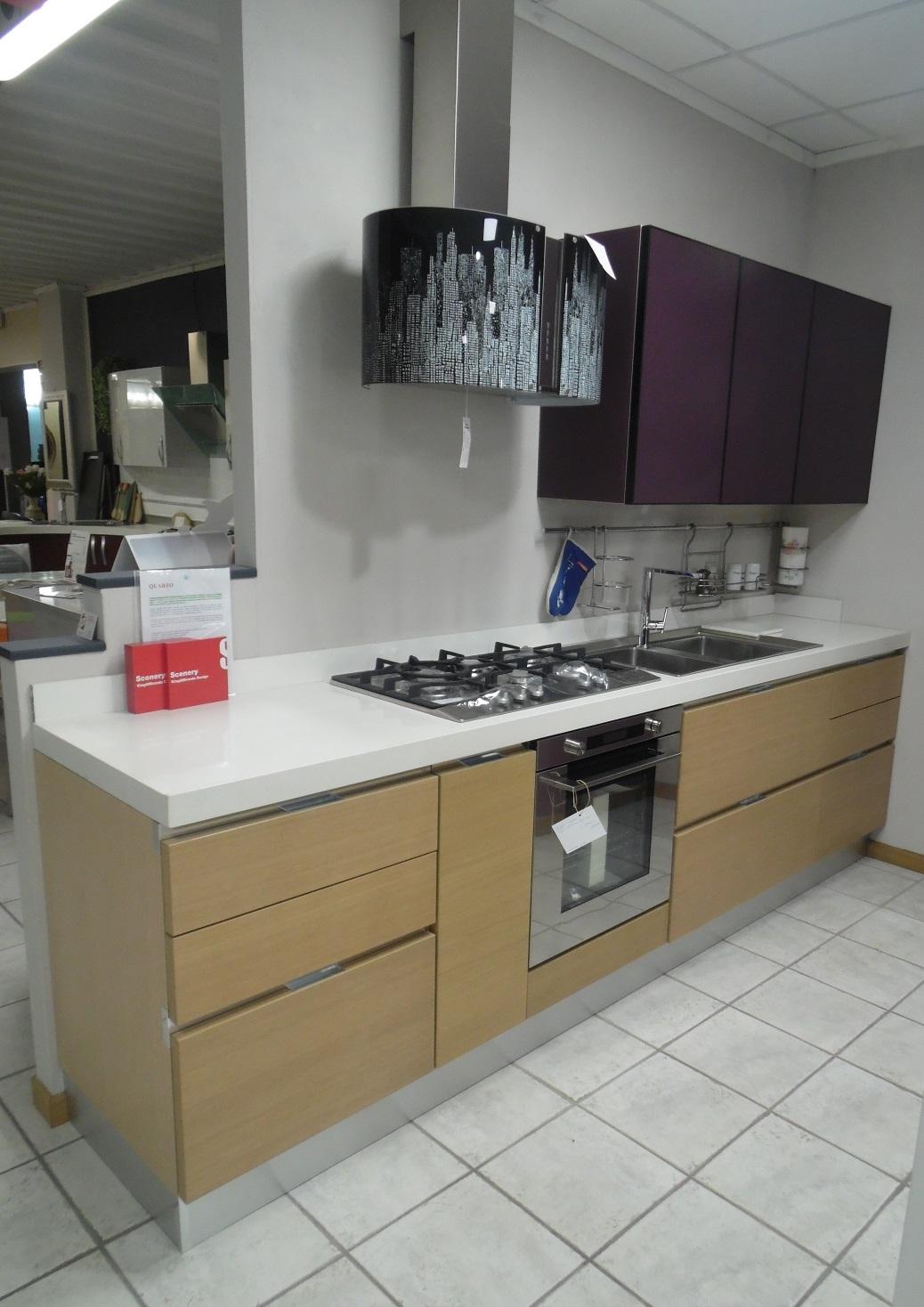 Cucina con penisola centrale simple with cucina con - Preventivo cucina scavolini ...
