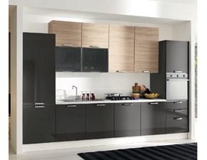 Cucina lineare Cucina-componibile mod.eva in promozionale Aran cucine con un ribasso del 30%