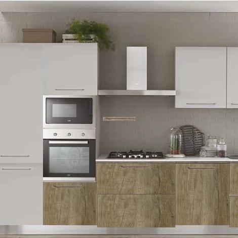 cucina lineare dalida essenza moderna in offerta On cucina moderna 360 cm