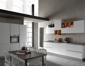 Cucina lineare Delicata Artigianale con un ribasso del 51%