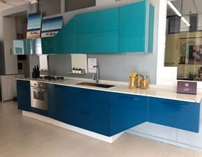 Cucina lineare design Alicante Febal a prezzo scontato