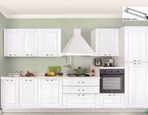 Cucina lineare design Betty Artigianale a prezzo ribassato