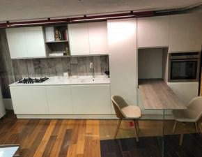 Cucina lineare design Brera laccata lucida Berloni cucine a prezzo ribassato