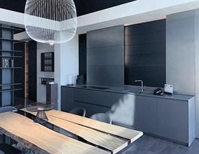 Cucina lineare design Cucina blade Modulnova a prezzo ribassato