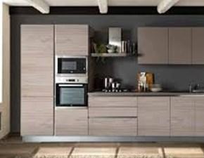 Cucina lineare design Delizia Net cucine a prezzo scontato