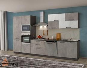 Cucina lineare design Kira Net cucine a prezzo ribassato