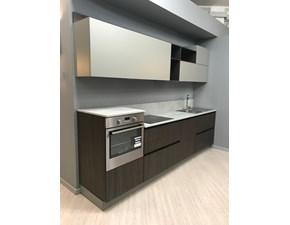 Cucina lineare design Linea Arredo3 a prezzo ribassato