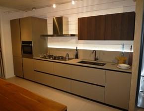 Cucina lineare design Materia Doimo cucine a prezzo scontato