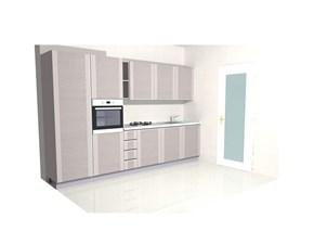 Cucina lineare design Mood lineare Astra a prezzo ribassato