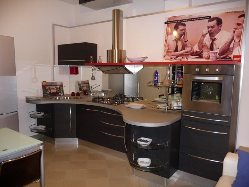 Cucina lineare design Skyline Snaidero a prezzo ribassato
