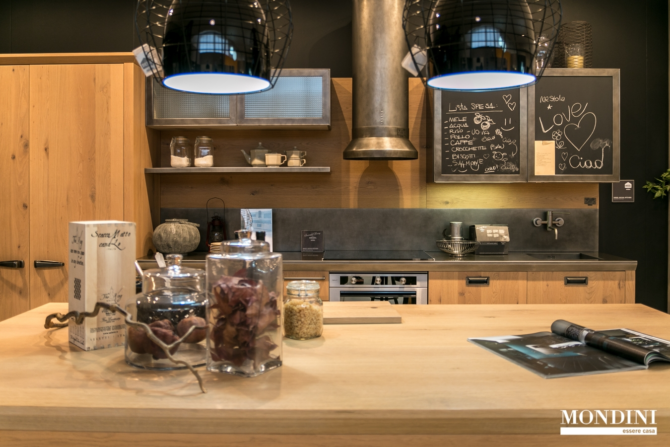 Cucina lineare diesel di scavolini scontata del 37 - Cucina diesel scavolini ...