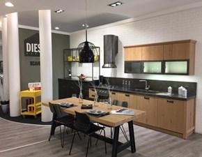Cucina lineare Diesel social kitchen Scavolini con uno sconto del 50%