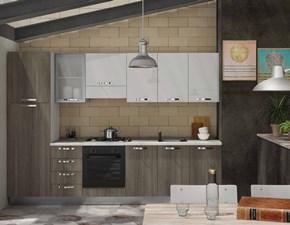 Cucina lineare Greta mod 7 Artigianale con uno sconto vantaggioso