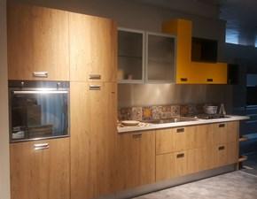 Cucina lineare Ice - industrial  Febal con un ribasso del 56%