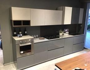 Cucina lineare in laccato lucido altri colori Easy + style a prezzo scontato