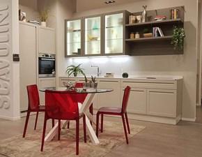 Cucina lineare in laccato opaco a prezzo ribassato 40%