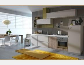 Cucina lineare in laccato opaco a prezzo ribassato 37%