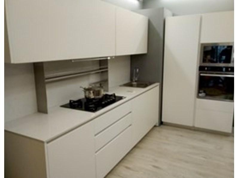 Cucina Laccata Opaca.Cucina Lineare In Laccato Opaco A Prezzo Scontato 51