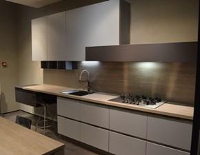Cucina lineare in laccato opaco a prezzo scontato 78%