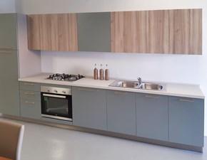 Cucina lineare in laccato opaco altri colori Clara a prezzo scontato