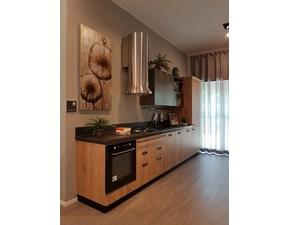 Cucina lineare in laminato materico altri colori Diesel a prezzo scontato