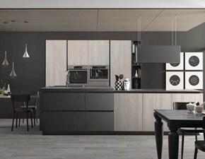 Cucina lineare in laminato opaco a prezzo ribassato 36%