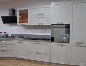 Cucina lineare in legno a prezzo ribassato 56%