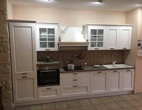 Cucina lineare in legno a prezzo scontato 54%