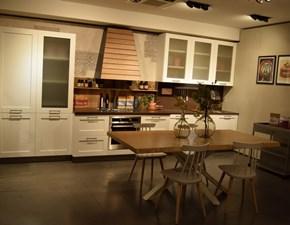 Cucina lineare in legno altri colori City a prezzo ribassato